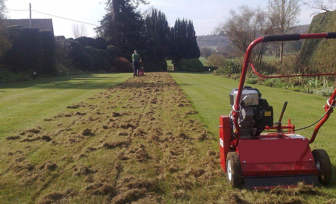 Scarifying - Lawn Care Harrogate Gardening services